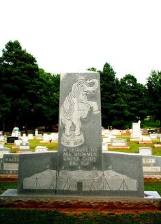Showman's Rest - circus people's graveyard in Ohio.