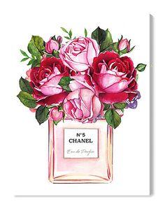 dessin chanel fleur