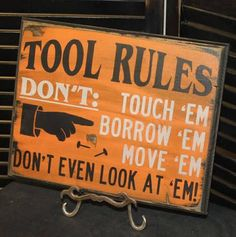 dads garage rules signs - Google Search