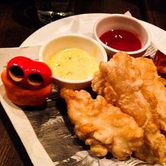 Yum fish&chips!! #mizumushikun #food #fish&chips #yummy #dish