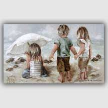 maria_oosthuizen Painting People, Painting For Kids, Art For Kids, South African Artists, Found Art, Sea Art, Beautiful Paintings, Art Pictures, Amazing Art