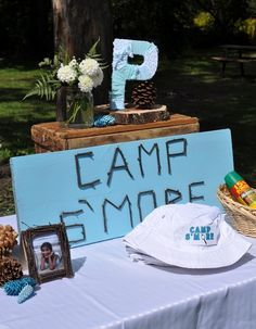 camp s'more camping themed birthday party 057