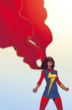 MS. MARVEL #3 - April 2014 G. Willow Wilson (W) • Adrian Alphona (A) Cover by JAMIE McKELVIE Artist Variant by annie wu • The All-New Ms. Marvel has already gained international fame. • But in Kamala's case, star-power comes with a whole lot of... awkwardness.