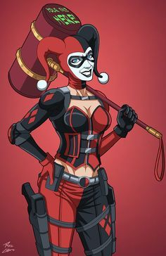 Harley Quinn (E-27: - http://www.femalejokercostume.com