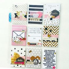 Pocket Letters are so much fun. Create a few and surprise a friend ~ instead of bills in their mailbox, wouldn't a Pocket Letter be soooooooo much nicer!!!