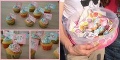 How to tell you're pregnant to family, friends, parents, sister, brother! Cute pink or blue cupcakes! Een leuke manier om te vertellen dat je zwanger bent aan familie, vrienden, ouders, zus, broer. Schattige roze en blauw cupcakes!