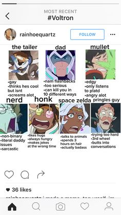 Tag yourself. I think I'm somewhere between honk and Pringles guy tbh