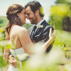 An Elegant Vineyard Wedding at Tres Hermanas Winery in Santa Maria, California.  GYC provided the ceremony chairs, silverware, glassware, china, and items for the cocktail hour at this gorgeous wedding!