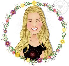 Ilustração Personalizada Querido Pix Fiorella Matheis