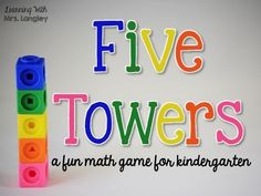 Kindergarten math games are a fun way to teach the curriculum through centers and activities. Whole group games are not common but this one includes cooperation, math concepts, common core standards, and whole group fun. Once you play this as a whole grou Kindergarten Math Activities, Kindergarten Lesson Plans, Fun Math Games, Kindergarten Lessons, Preschool Games, Math Lessons, Math Resources, Homework Games, Counting Games