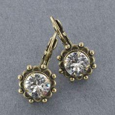 Sadie Green's Austrian Crystal Earring