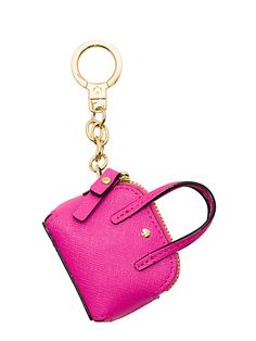 Kate Spade Things We Love Mini Maise Handbag Keychain Key Fob Pink Handbag Accessories, Fashion Accessories, Electronics Accessories, Kate Spade Maise, Cute Keychain, Key Fobs, Purse Wallet, Designing Women, At Least