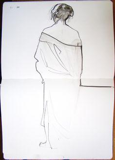 Letitia Thompson - life drawing