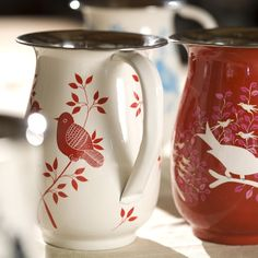 The gorgeous hand painted Lolita and Eva jugs! These are so delicately decorated, your dining table will ooze character as you serve the beverages! £27.95 www.lovesweetfreedom.co.uk