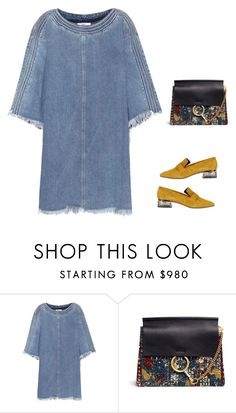 """""""Untitled #2464"""" by yuenchewwan ❤ liked on Polyvore featuring Chloé and Topshop"""