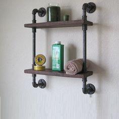 Ottawa source of custom pipe shelves - KOR pipe shelf narrow