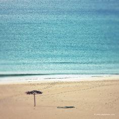 Crete beach in December