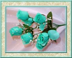 mother's day gifs centerblog.net | Teal Roses With Falling Petals Pictures, Photos, and Images for ...