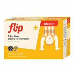 Flip Organic Einlage (Tag) 3er Pack