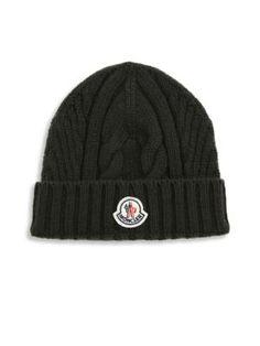 ead480a861c MONCLER Virgin Wool Beanie.  moncler  beanie Moncler