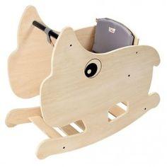 done by deer houten schommelstoel neushoorn 40501 | ilovespeelgoed.nl