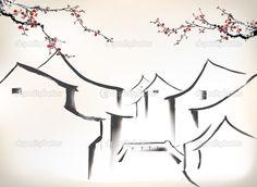 Resultado de imagem para ilustração china