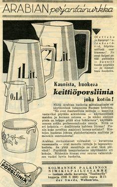 Keittiöporsliinia