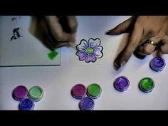Cosmic Shimmer Paint Comparison - Sheena Douglass - YouTube