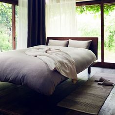 Our limited time sale ends soon! All bed linens including duvet covers pillow cases and sheets are now 15% off until May 23.  #muji