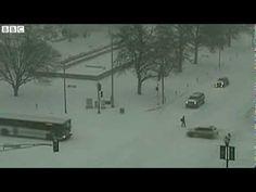 BBC News   N America weather  Arctic blast brings record temperatures
