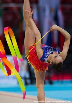 Natalia Kulig (Poland), World Cup (Sofia) 2018 Rhythmic Gymnastics, World Cup, Poland, Ribbon, Sports, Outdoor, Tape, Outdoors, Treadmills