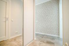 """Słoneczny apartament """"Chmielna Garden II"""" z prywatnym ogrodem znajduje się w samym sercu Gdańska, na Wyspie Spichrzów. Tall Cabinet Storage, Tile Floor, Flooring, Furniture, Home Decor, Decoration Home, Room Decor, Tile Flooring, Wood Flooring"""