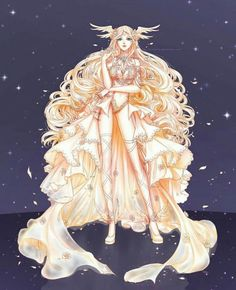 Character design commission from FloofyTsuki, her OC Tsuki, elf version. Human version: , Neko version: -------- Art by me, using Paintool SA. Manga Art, Manga Anime, Anime Art, Chica Fantasy, Fantasy Girl, Character Inspiration, Character Art, Beautiful Anime Girl, Anime Angel