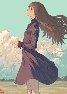 「風読み」/「禅之助」のイラスト [pixiv]