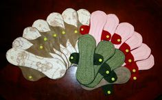 cloth pads pattern