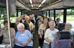 In this picture you see old people in a bus. I am refering to the 'stand up of elderly people in public transport' issue. If you stand up for them, you have manners. Young people don't do it as much as little bit more older people. This is because time has changed during the years.