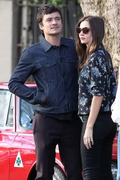 Miranda Kerr and Orlando Bloom look loved up as they leave Chiswick restaurant in Sydney. 8-20-2012