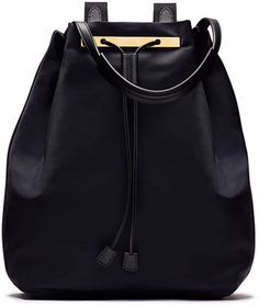 THE ROW Backpack 11 Nylon Bag, Navy