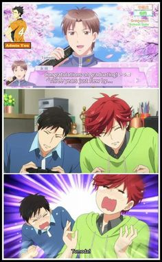 Gekkan Shoujo Nozaki-kun. Just started this. It's hilarious!
