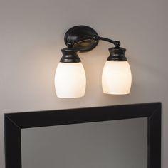 Birch Lane™ Donne 2-Light Vanity Light & Reviews | Wayfair