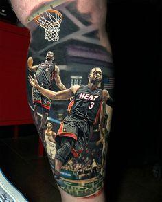 Latest Tattoos Designs and Ideas Basketball Tattoos, Football Tattoo, James Basketball, Love Tattoos, Beautiful Tattoos, Picture Tattoos, Tattoos For Guys, Men Tattoos, Latest Tattoo Design