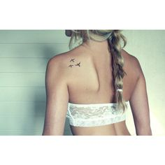 #tattoo #birds #bird #bra #white