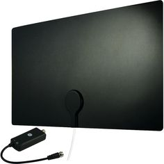General Electric 33678 Ultra Edge Series Flat Amplified Indoor Antenna