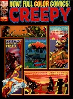 Creepy Comics Magazine.
