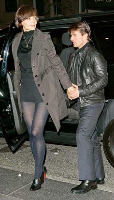 Image detail for -Ten Oddest Celebrity Couples in Hollywood Tom Cruise and Katie Holmes . Funny Celebrity Pics, Celebrity Couples, Celebrity Pictures, Fashion Tights, Katie Holmes, Tall Women, Sexy Shorts, Tom Cruise, Sport Outfits