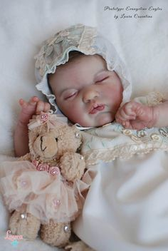 Laura Reborn Dolls *PROTOTYPE EVANGELINE* by Laura Lee Eagles in Dolls & Bears, Dolls, Clothing & Accessories, Artist & Handmade Dolls | eBay