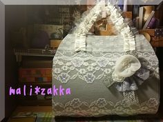 """It's not just a handbag!! A handmade gift to my lovely friend, Fiona Wedding love vow in """"handbag style"""""""