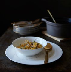 Snack Bar Recipe - Pumpkin Risotto with Grana Padano :: Adapted from Marissa Lippert