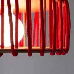 Macaron Oak Lamp, Red -  - Lights - EMKO - Space & Shape - 10