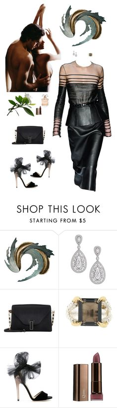 """""""Untitled #679"""" by sunny050866 ❤ liked on Polyvore featuring Universal Lighting and Decor, Adriana Orsini, Valextra, Tessa Metcalfe, Jimmy Choo and Elie Saab"""